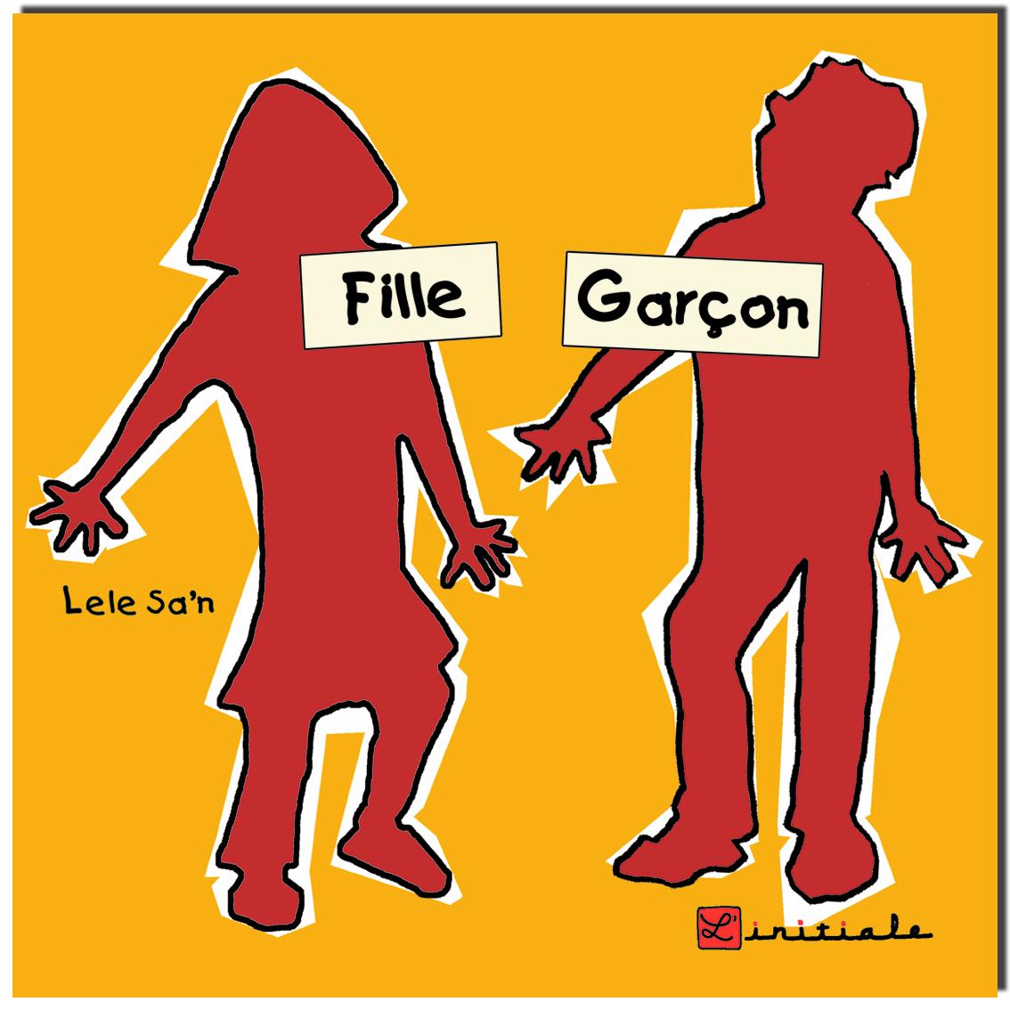 couverture Fille Garçon